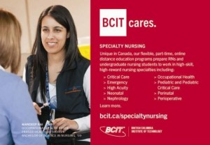 bcaiu bcit specialty nursing cdn nurse